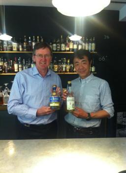 Ichiro Akuo et Anthony Wills