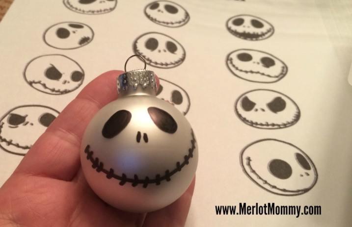 DIY Jack Skellington Ornaments #JackSkellington