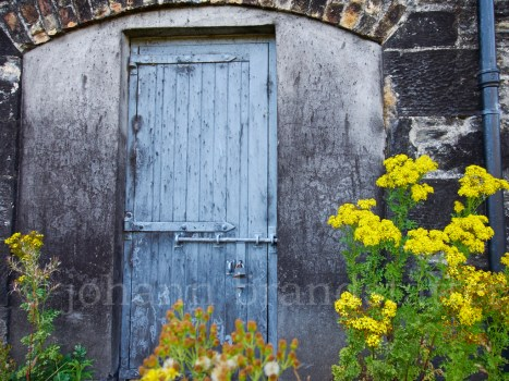 Door at the dismantled Convalmore Distillery