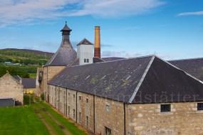 The silent Brora Distillery