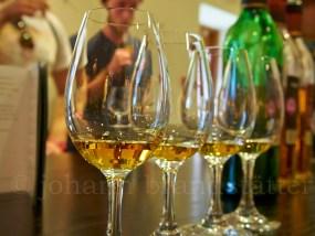 Whisky samples, Glenfiddich Distillery