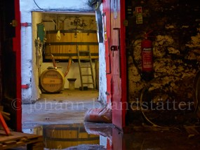 Fill store at the Edradour Distillery