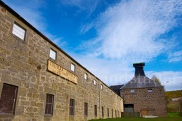 The closed Coleburn Distillery