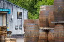 Whisky casks, Glenfiddich Cooperage