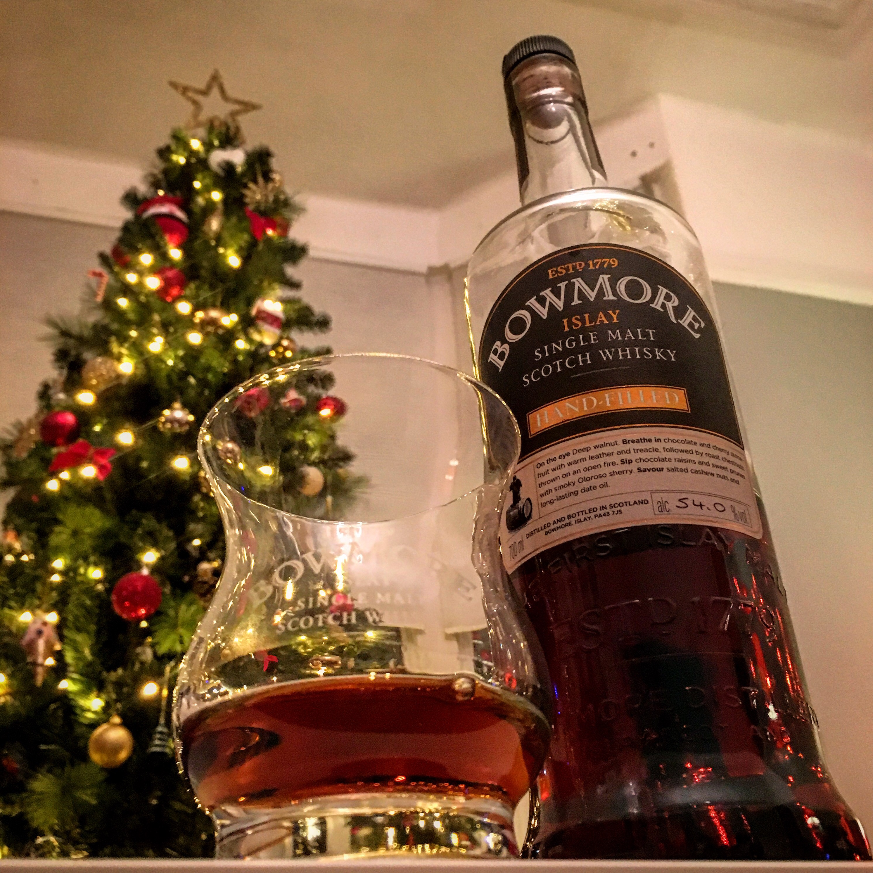 New Year Dram Bowmore Single Cask Whisky Reviews