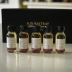 A.D. Rattray 'Octave Project' Single Cask Series – 5 x Arran 6 Year Old Single Malt