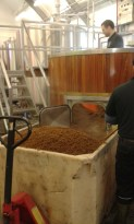 Busy brewing the next batch of delicious beer