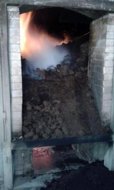 Peat smoke kilns