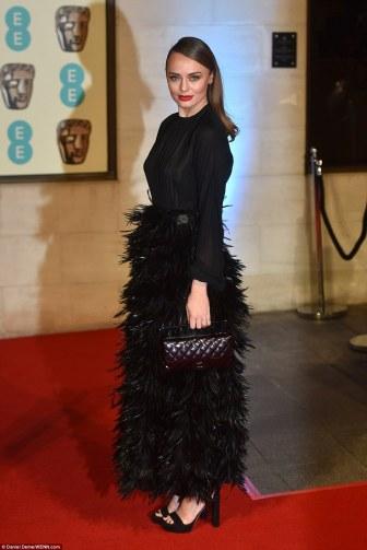 Laura Haddock BAFTAs 2016