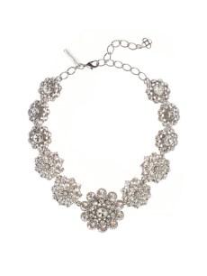 Oscar de la Renta bridal necklace