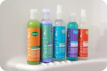 Zippity-Doos Lice Shampoo.