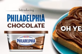Kraft Philly Chocolate: Get the Dairy Goodness of Philly Plus the Deliciousness of Pure Milk Chocolate–With 1/2 the Sugar & Calories! #PhillyChocolate