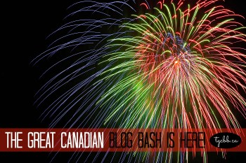 The Great Canadian Blog Bash Official Giveaway: $1, 700 in All-Canadian PRIZES, Come On Over–This is A Party You Don't Want to Miss! #TGCBB