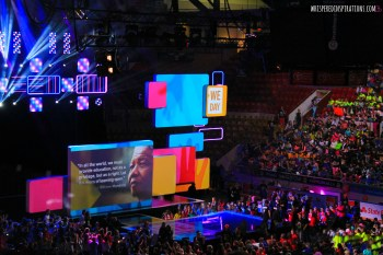 We Day Waterloo with @TELUS: Impassioned, Inspired and Motivated to Be The Change We Want to See In the World. #WeDay