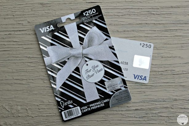 RetailMeNot shopping with gift card.