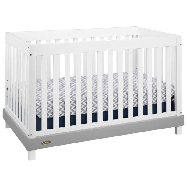 The Graco Maddox 3-in-1 Convertible Crib with KidiComfort Mattress! #BestBuyBaby