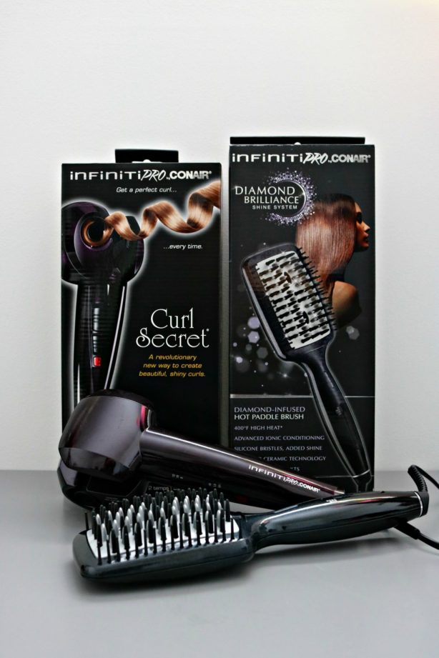 Get Two Gorgeous Looks with Infiniti Pro Conair! #ConairDiamondBrilliance