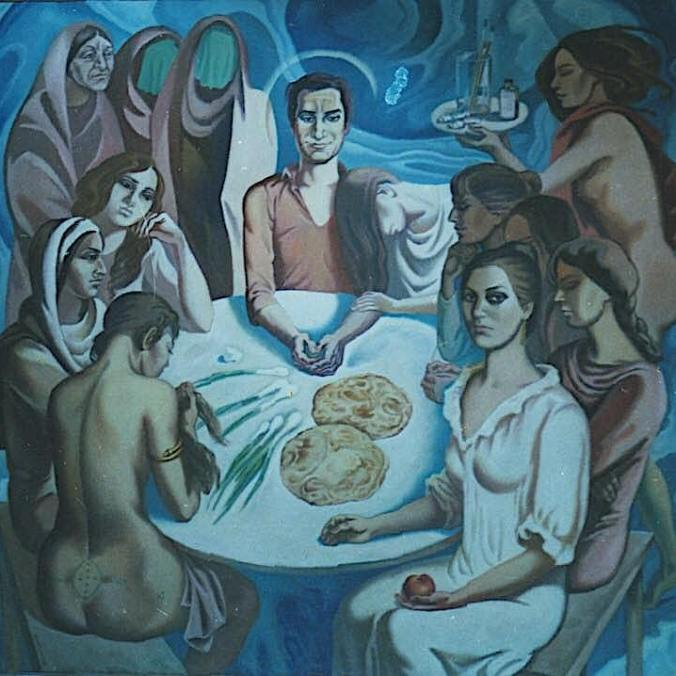 Last Supper, M Ahmed