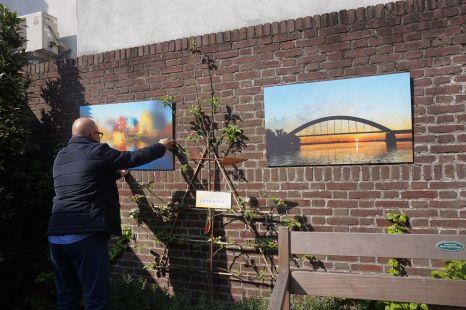 Sint Paulus guest house، Die Swert-Van Erp memorials in the garden