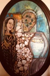 لوحة الخاتون في تشكيليات عراقيات وأردنيات. بشرى الخطيب