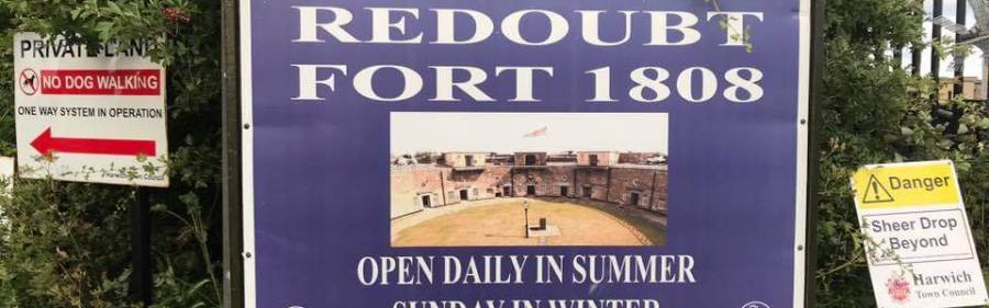 Harwich Redoubt Fort Photographs