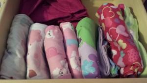 konmari children pajamas