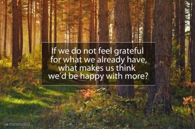 grateful becoming