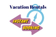 Vacation Rentals Instant Bookings