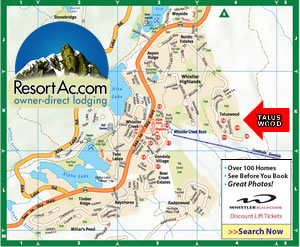 Whistler Taluswood Accommodation Maps