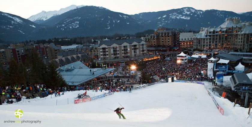 Whistler Ski Snowboard Festival Big Air Longhorn Apres
