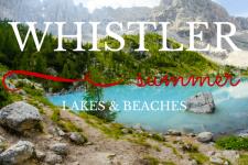 Whistler Lakes and Beaches