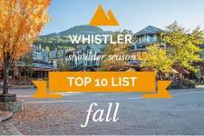 Whistler Fall Activities Top 10
