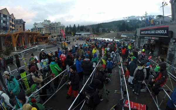 whistler blackcomb opening day