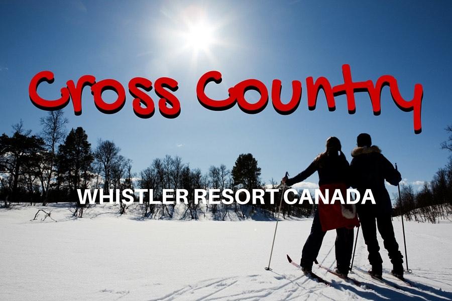 Whistler Cross Country Skiing or Nordic Skiing