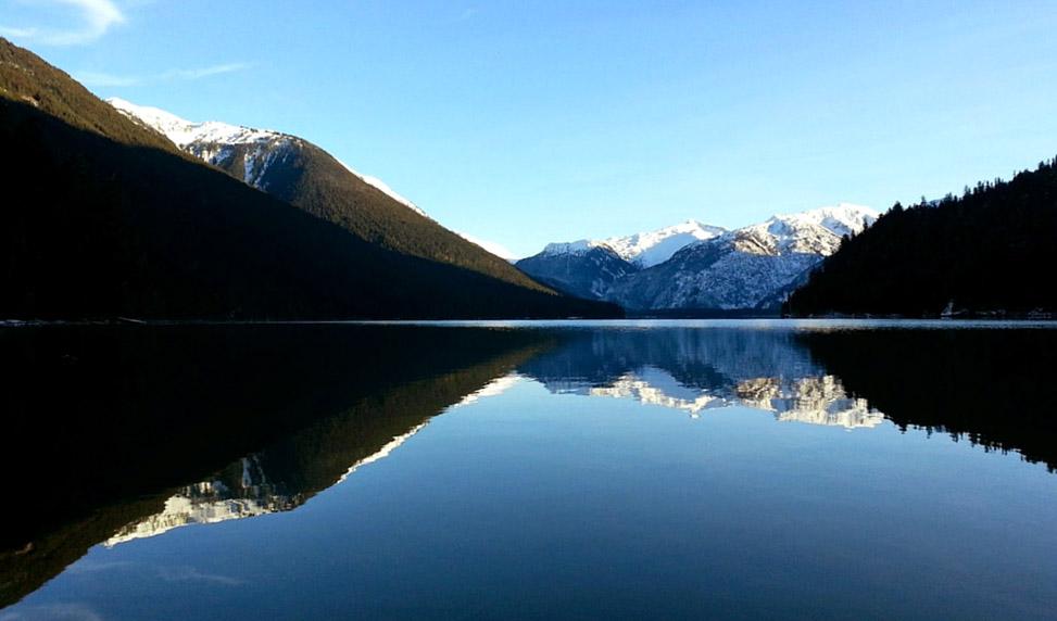Cheakamus Lake in Fall   Beginner Friendly Hikes in Whistler
