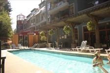 Photo of Alpenglow Whistler Village pool hottub sauna cable fireplace