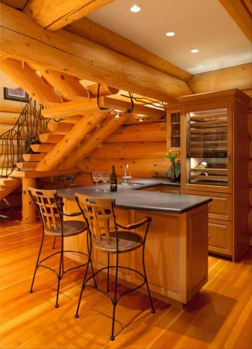 Whistler Luxury Log Chalet with Private Hot Tub :: Whistler Creekside Photo 3