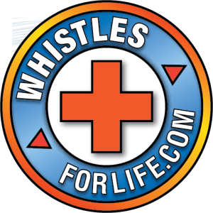 Whistles for Life safety whistles