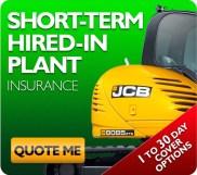 JCB Hiremaster Insurance