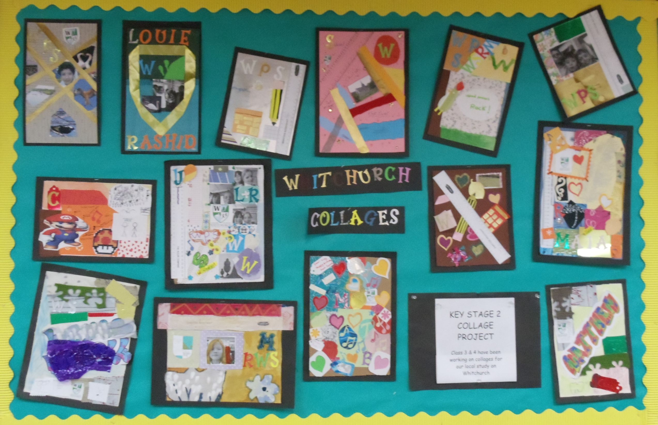 Wall Display4 Whitchurch Primary School