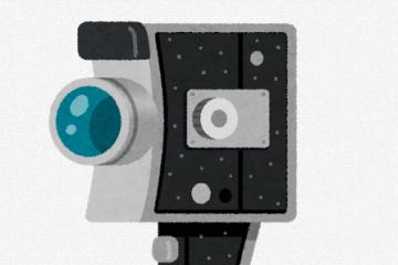 8ミリビデオカメラ