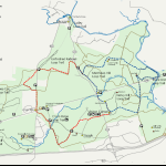 Manassas Battlefield Horseback Riding Trail Map
