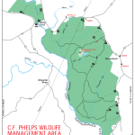 Chester F. Phelps WMA Horseback Riding Trail Map