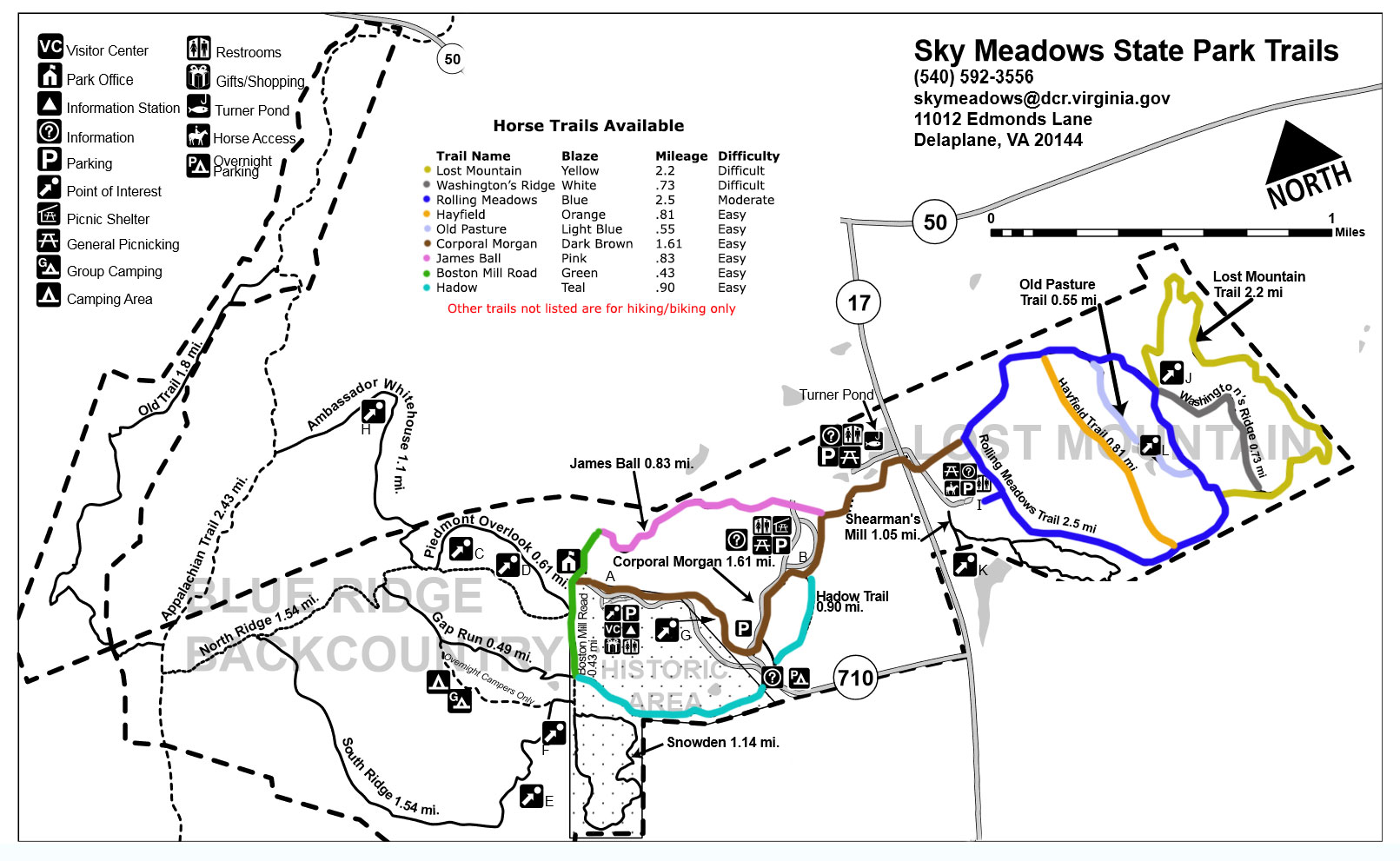 Trail Maps White Oak Stables