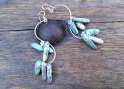 Long Turquoise Earrings 3