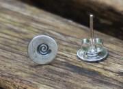 Spiral Stud Earrings 4