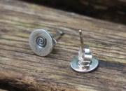 Spiral Stud Earrings 5