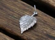 Silver Leaf Pendant 3