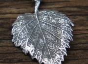 Silver Leaf Pendant 5