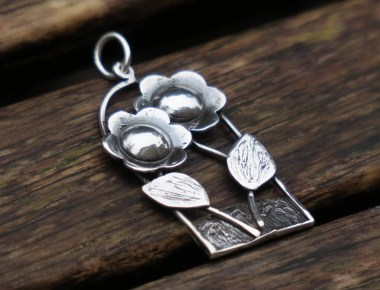 Silver Statement Pendant 1